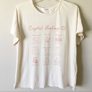 NEW PROJECT SOCIAL T Crystal Healing Tee
